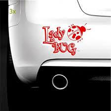 Amazon Com Boilipoint 3pcs Car Window Decal Truck Outdoor Laptop Sticker Family Ladybug Unique Vinyl Graphic Decal Car Auto Window Bumper Sticker Fun Automotive