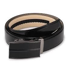 genuine leather custom buckle logo belt