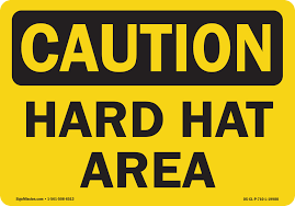 Osha Caution Sign Hot Work Permit Required In This Area Vinyl Decal Protect Your Business Walmart Com Walmart Com