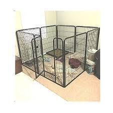 Extra Large Exercise Pen Heavy Duty 40 Inch Door Big Dog Black Large Pet 8 Panels Kennel Playpen Ebook Oistria Dog Playpen Playpen Dog Door
