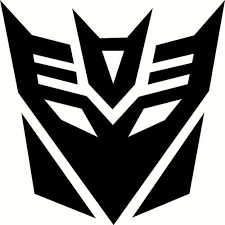 Decepticon Decal Sticker Decepticon Transformers Thriftysigns