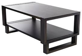 twist modern frame coffee table gray