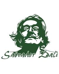 Check Out These Bargains On Salvador Dali Wall Decal Dark Green 24 X18