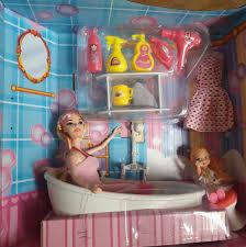 Bộ đồ chơi búp bê Dream mini bathroom loại to (Nhiều phụ kiện- 2 ...
