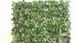 China Top Sale Fabric Artificial Expandable Trellis Lattice Fence For Decoration China Trellis Hedges And Outdoor Artificial Expandable Hedge Price
