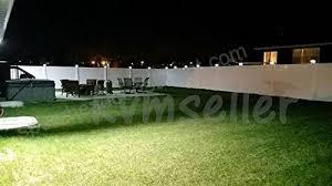 White 2 Pack Black Brown Silver White 4 X 4 Solar Post Deck Cap Fence Light Pvc Vinyl