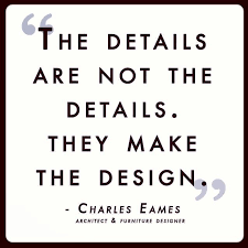here s a little quote by famous architect and furniture designer