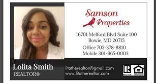 Lolita Smith - Realtor - Samson Properties   LinkedIn