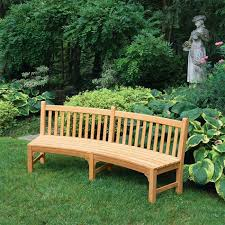 country casual teak armless benches