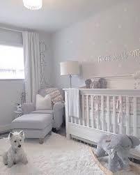 White Star Decals Beautiful Nursery With Grey White Nursery Baby Room Baby Girl Nursery Room Girl Nursery Room