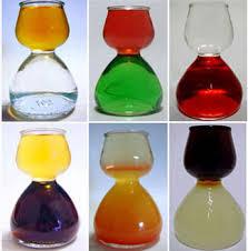quaffer layered shot glass chaser