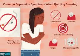 depression to quitting smoking
