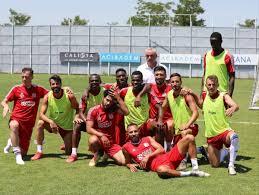 Sivasspor, Göztepe maçı hazırlıklarını tamamladı