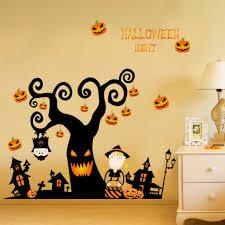 3d Halloween Pumpkin Lantern Wall Stickers Decals Wallpaper Mural Art Decor Home For Sale Online Ebay