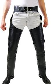 leather chaps pants trousers at