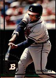 Amazon.com: 1994 Bowman #573 Terry Pendleton Atlanta Braves MLB Baseball  Card NM-MT: Collectibles & Fine Art