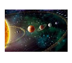 Amazon Com Large Solar System Wall Decal Planet Vinyl Sticker Cosmos Vinyl Sticker Space Wall Decal Planets Wall Decor Solar System Stickers As73 Handmade