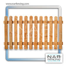 Picket Panels Nar Fencing Timber Supplies