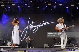Amanda Sudano and Abner Ramirez of Johnnyswim performs on Day 3 of... News  Photo - Getty Images