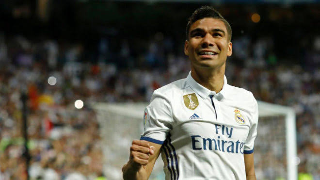 Image result for Casemiro Real Madrid""