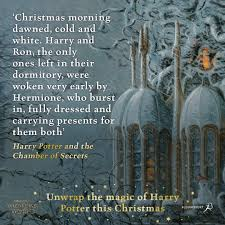 wizarding world on have a very harry christmas we hope