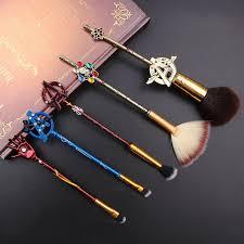 avengers makeup brush set 5 pcs