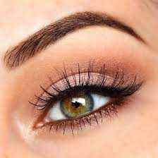 fabulous look natural green eyes makeup