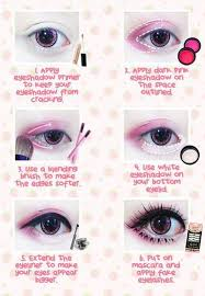 tutorial anime eye makeup saubhaya makeup