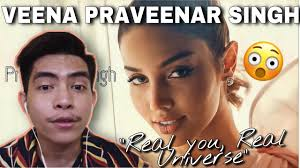 """Veena Praveenar Singh : Road to Miss Universe Thailand 2020 ??? """"Real  You Real Universe"""" REACTION - YouTube"""