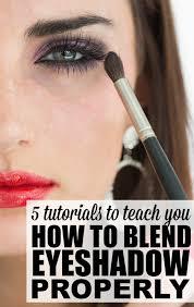 teach you how to blend eyeshadow