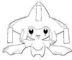 Kleurplaten Pokemon Jirachi Kleurplaten Pokemon