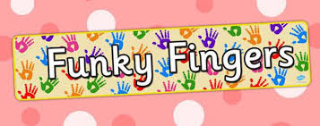 What is Funky Fingers? Pre-writing activities to get you started:
