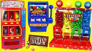 real working gumball slot machine toy