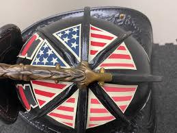Identifire Gen 2 American Flag Crown Of Helmet Decals Identifire Safety Products
