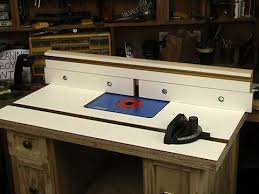 Router Table Top And Fence Youtube
