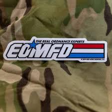 Eomfd Vinyl Sticker New Version Eod Pride Gift Decal Etsy