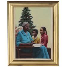 Felix Cole Holiday Themed Gouache Painting | EBTH