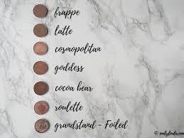 makeup geek eyeshadow collection