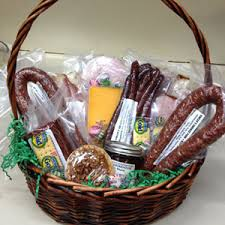 gift baskets filled with fresh