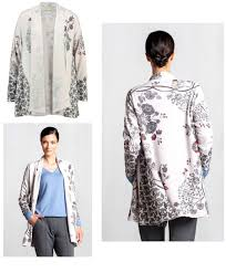 IVKO Ladies IVA Open Front Long Cardigan Style 72527 in 011 Off-White