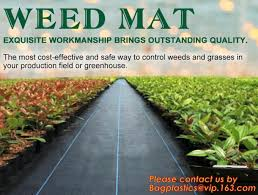 pp ground cover weed barrier fabrics