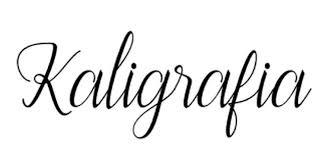 Znalezione obrazy dla zapytania: kaligrafia