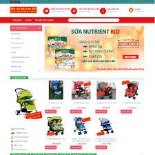 Website thương mại điện tử mevabesaodo.com