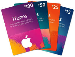 sell itunes apple gift card for