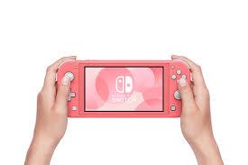 Máy chơi game Nintendo Switch Lite Coral Giá Rẻ Chính Hãng Trả góp Ship COD
