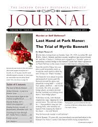 Last Hand at Park Manor: The Trial of Myrtle Bennett