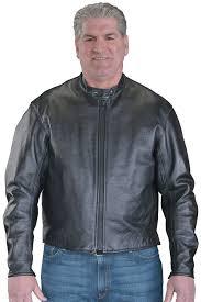 firenze black leather motorcycle jacket