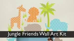 Jungle Friends Wall Kit Youtube