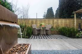 Woven Fence Panels Timber Commercial Fencing Jacksons Security Fencing