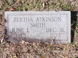 SMITH, BERTHA - Dallas County, Arkansas | BERTHA SMITH - Arkansas  Gravestone Photos